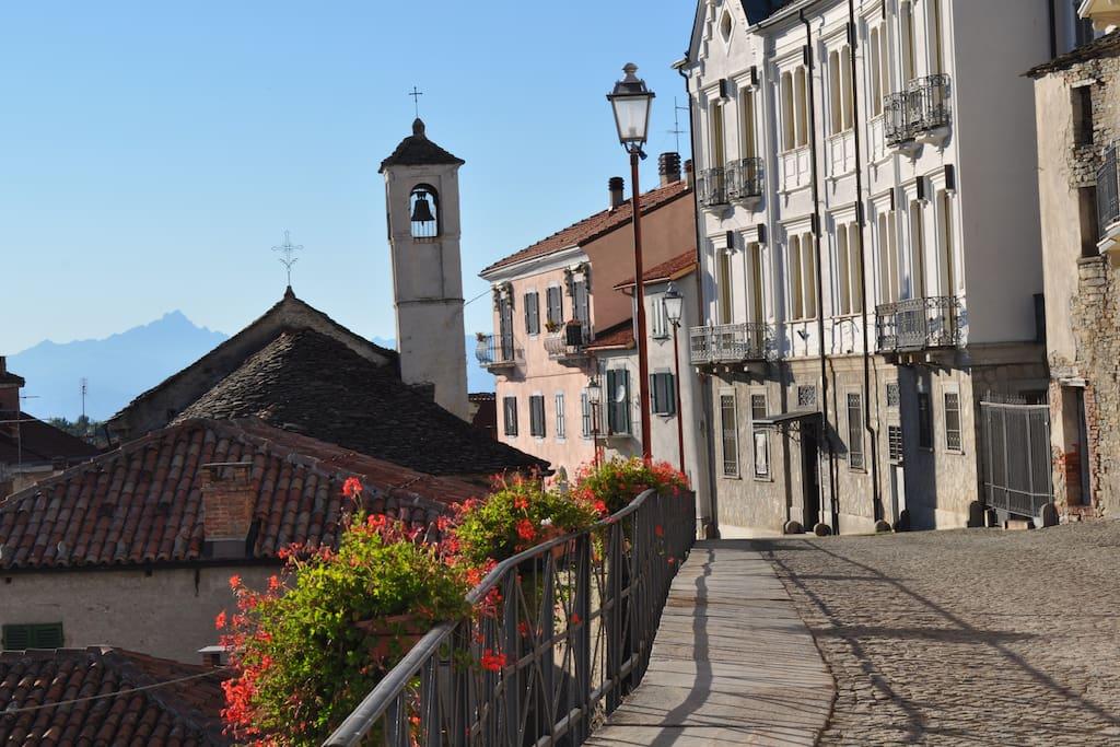 Murazzano Village