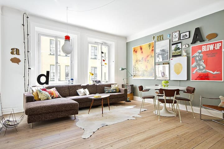 Colorful flat in trendy Sofo - Stockholm - Appartement
