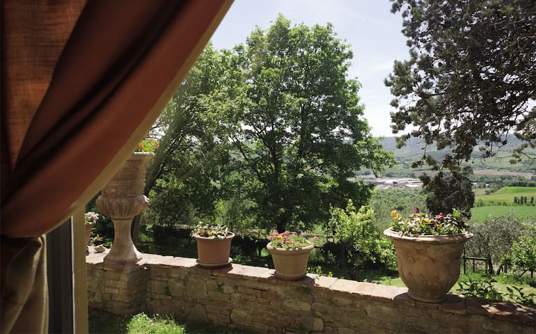 Panorama dal salotto