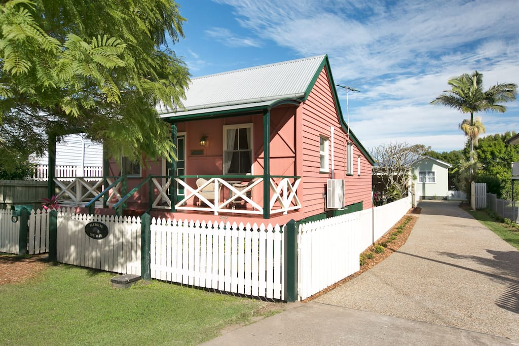 Sandgate Cottages Separate gardens & off street parking.