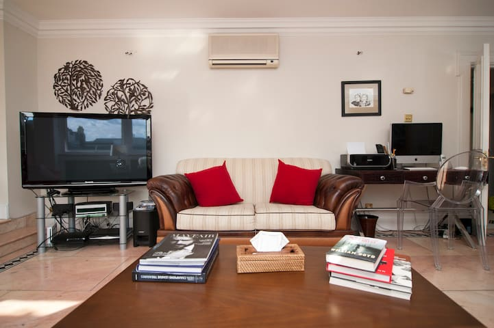Living room, guests are welcome