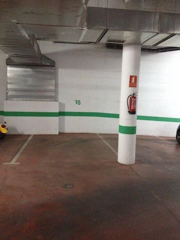 Parking in the same building