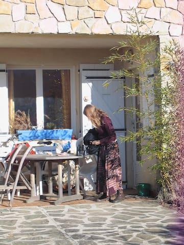 Logement calme et bucolique, Drôme provençale - Dieulefit - Apartmen