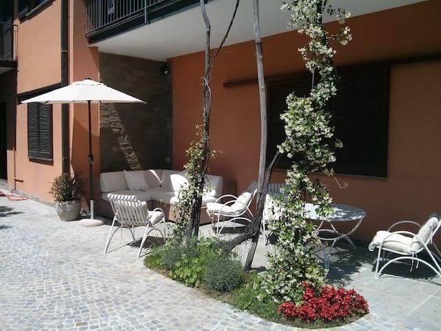 Cozy groundfloor apartment with garden
