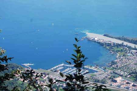 Léman : été au lac , hiver au ski ! - Port-Valais - Lejlighed