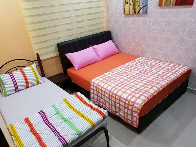 1 Bedroom (double +single)@Majestic - Ipoh - Wohnung