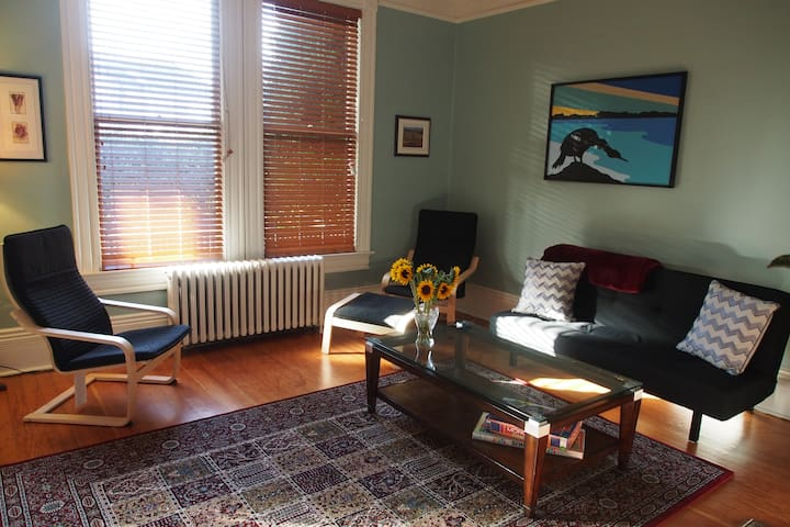 Stay Local Vacation! Charming, Spacious 1 BR suite