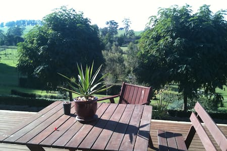 hobbyfarm stay modern home 10 acres - Warragul
