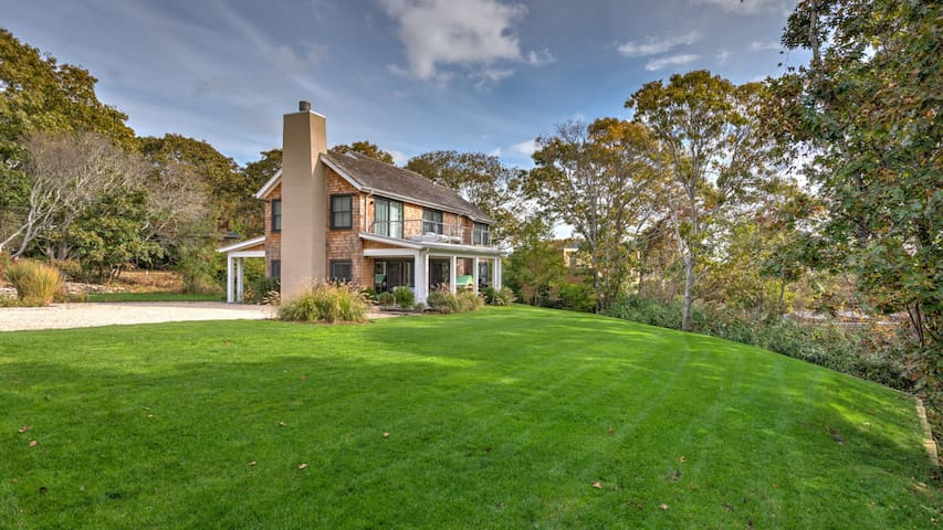 New Listing: Stainless Chef's Kitchen with Large Island, Upper Floor Deck, Moments from Hither Hills Deeded Private Hither Hills Beach
