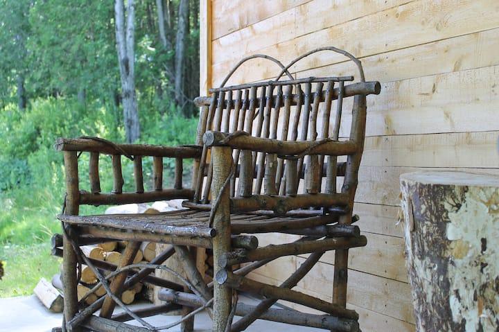Sleep like a log in a sugar shack !