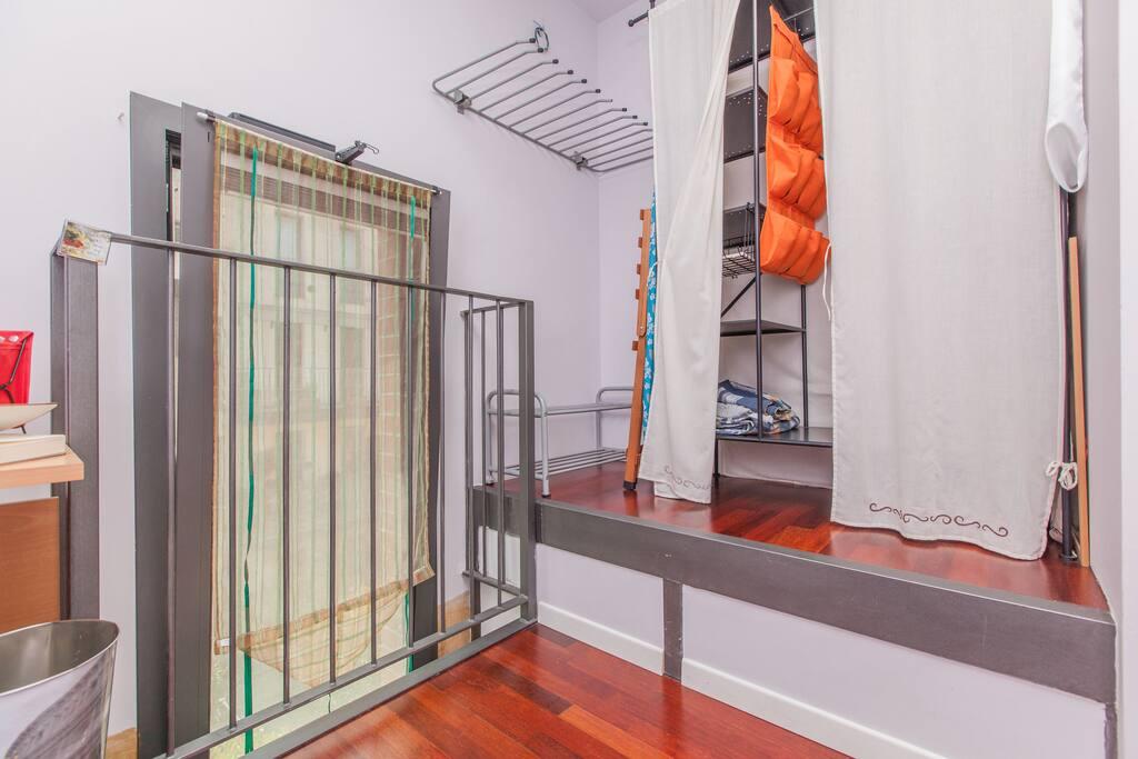 cabina armadio camera singola