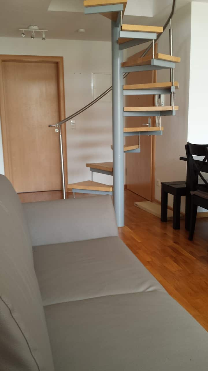Frankfurt City Maisonette Apartment