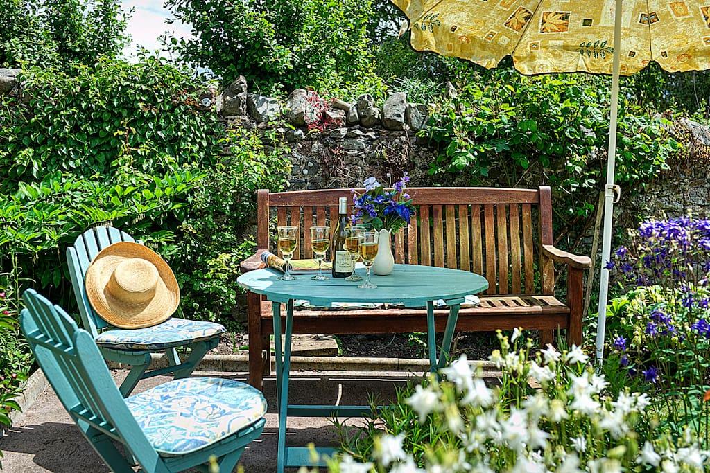 Drinks in the garden?