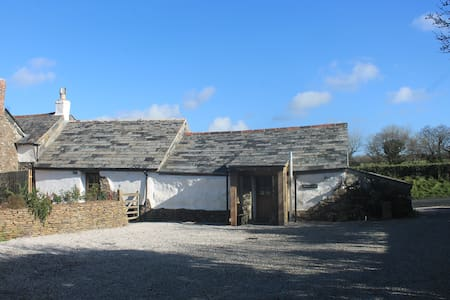 The Old Dairy - a luxury beamed cottage in St Kew