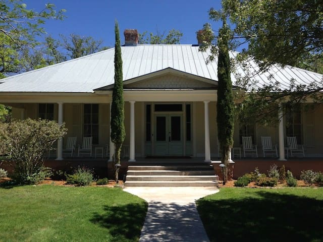 The Mulhern House - Fort Davis - Casa