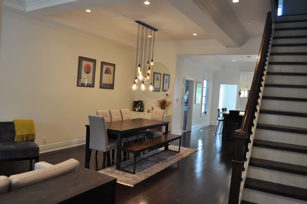 Bright open concept with great gathering areas!