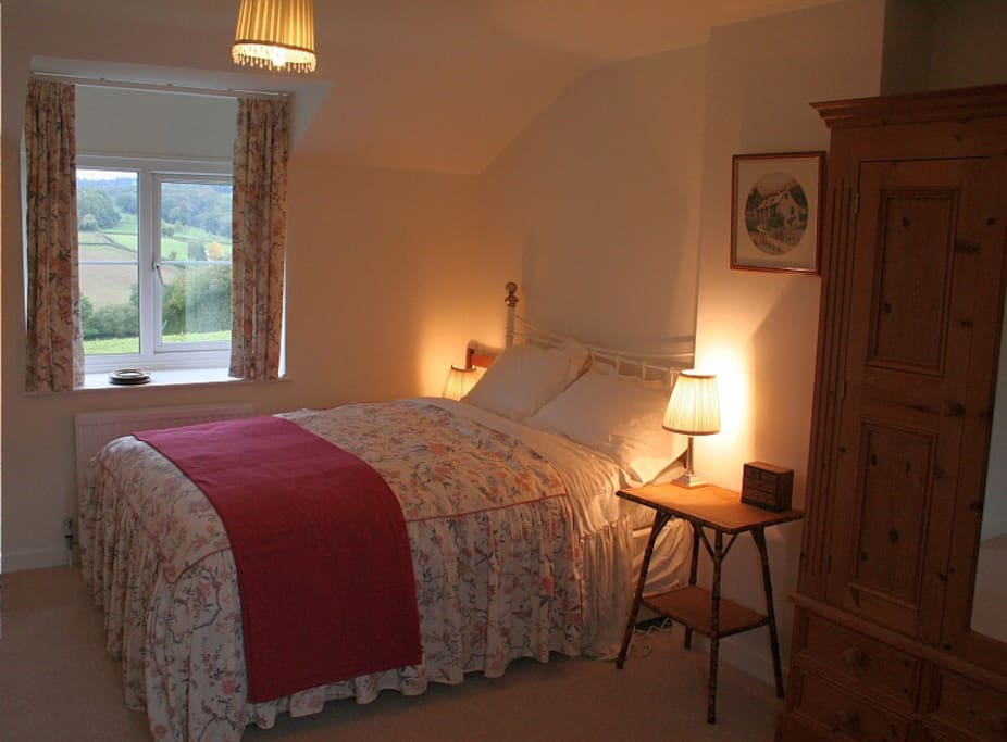 Double bedroom with fabulous views and above all comfort
