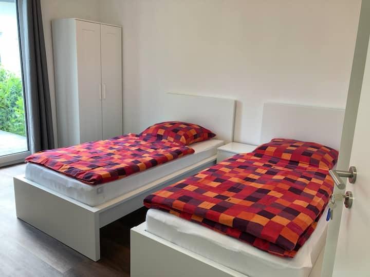 Zweibettzimmer Gästehaus Witteborg