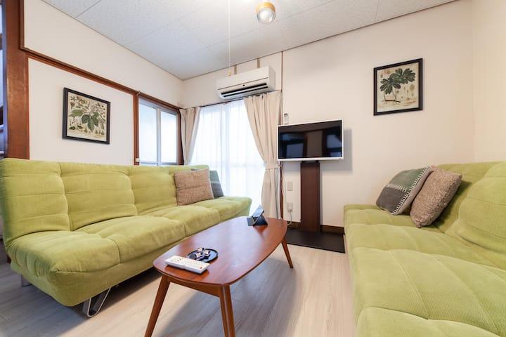 【GoTo】SHINJUKU Sta 1MIN by train/FREE Wi-Fi