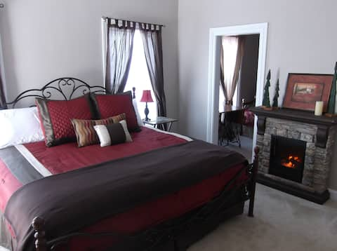 Historic Tuscan-themed Winery Guest Suite