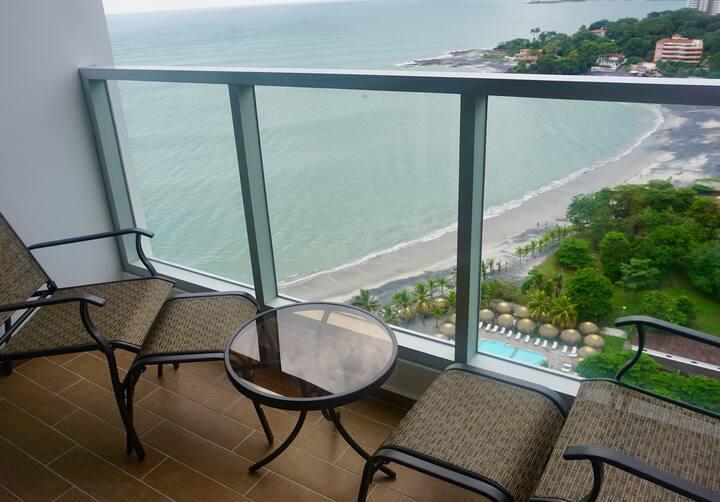 New Beachfront Condo For Rent Gorgona Panama #1901