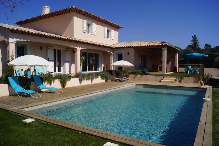 Chambre Tramontane villa à 5 min à pied du village