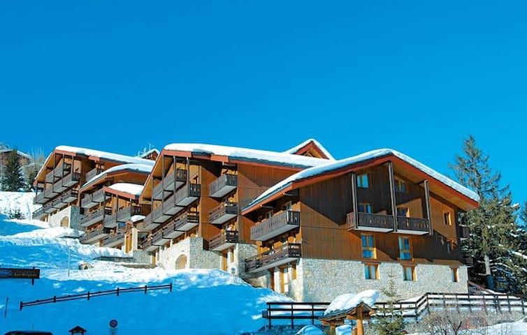 Flat for 4/5 people along Courchevel 1550 slopes - Saint-Bon-Tarentaise - Apartemen