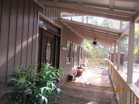 On the Riverbend Cabin