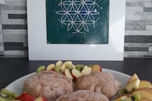 Scones with Fruits