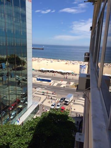 Ocean view room in Copacabana - Rio - Apartment