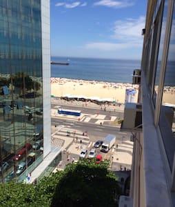 Ocean view room in Copacabana - Rio