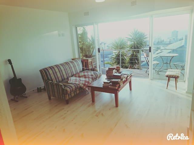 Sunny, fresh, Sea view apartment