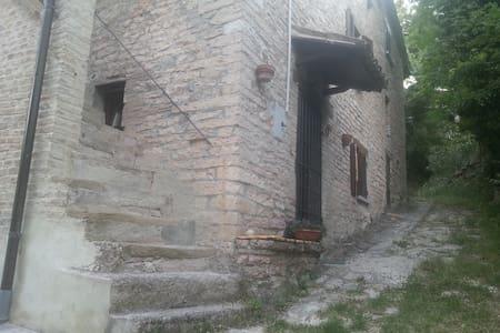 ITALIAN OLD STONE HOUSE  - Paravento