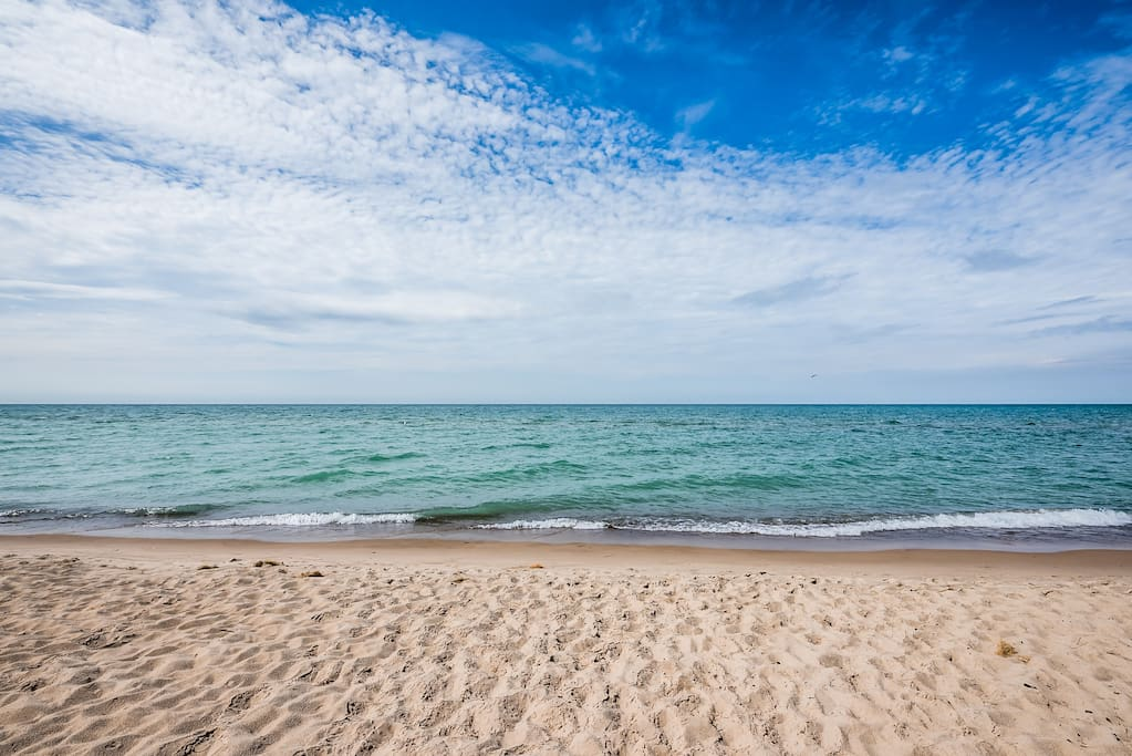 Two Lake Michigan Beaches to Pick From!