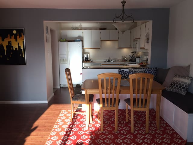 Cozy and quiet condo near the river - Montréal - Apartemen