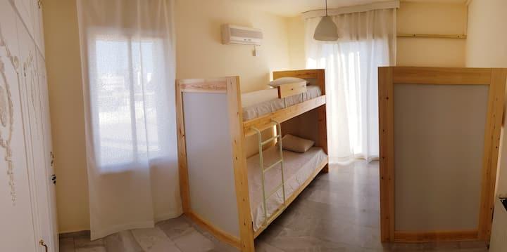 Bed in female dorm, Nex Hostel