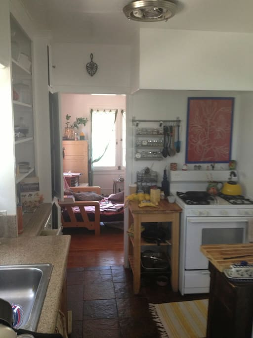 kitchen, washer and dryer included