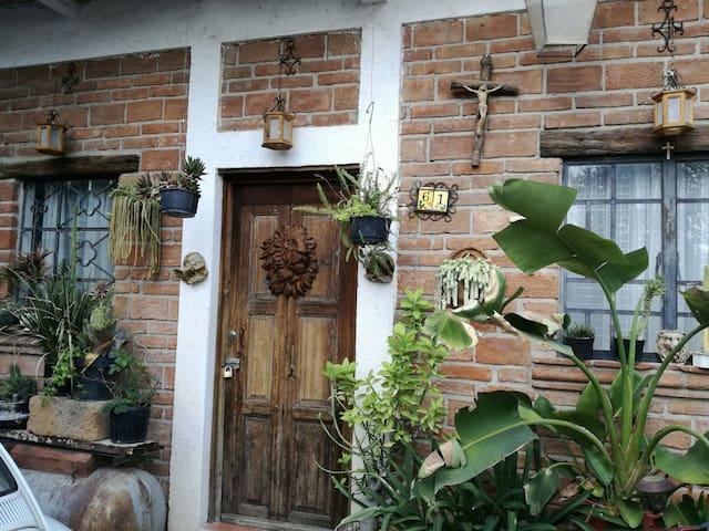 La casa del escultor.