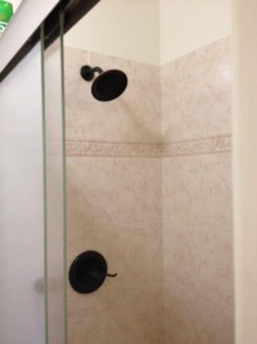 Updated neat Shower