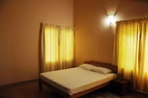 Comfortable bedrooms with queen size beds and ample  wardrobes. Fresh linen and towels are provided