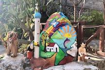 El Cuco, El Salvador, Habitación doble.
