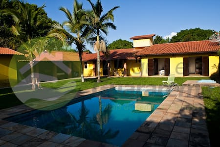 "Casa - ""Jardim Tropical"" - Santa Branca - Sommerhus/hytte"