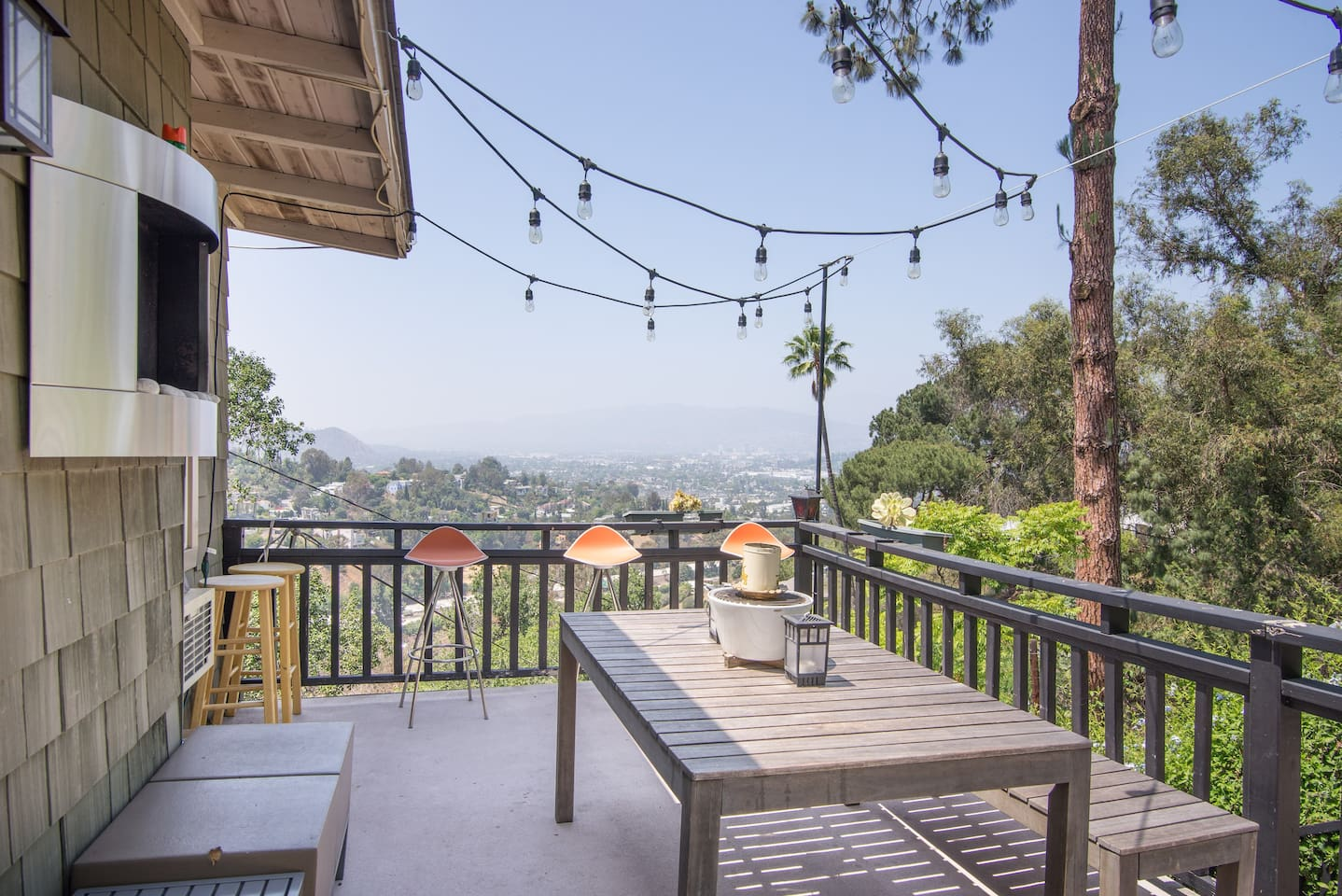 Shared Patio space provides beautiful views and a relaxing space to chill or socialize.