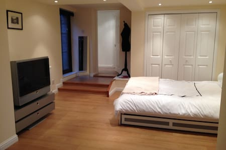 Garden flat 20 mins from Glasgow  - Coatbridge - Haus
