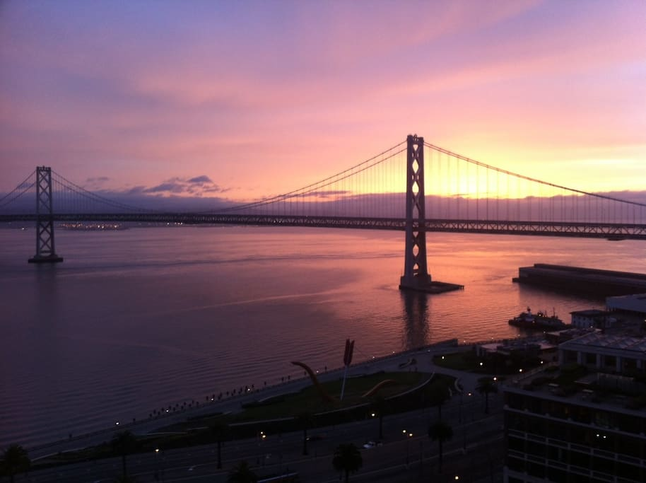 Sunrise.  Photo courtesy of a guest