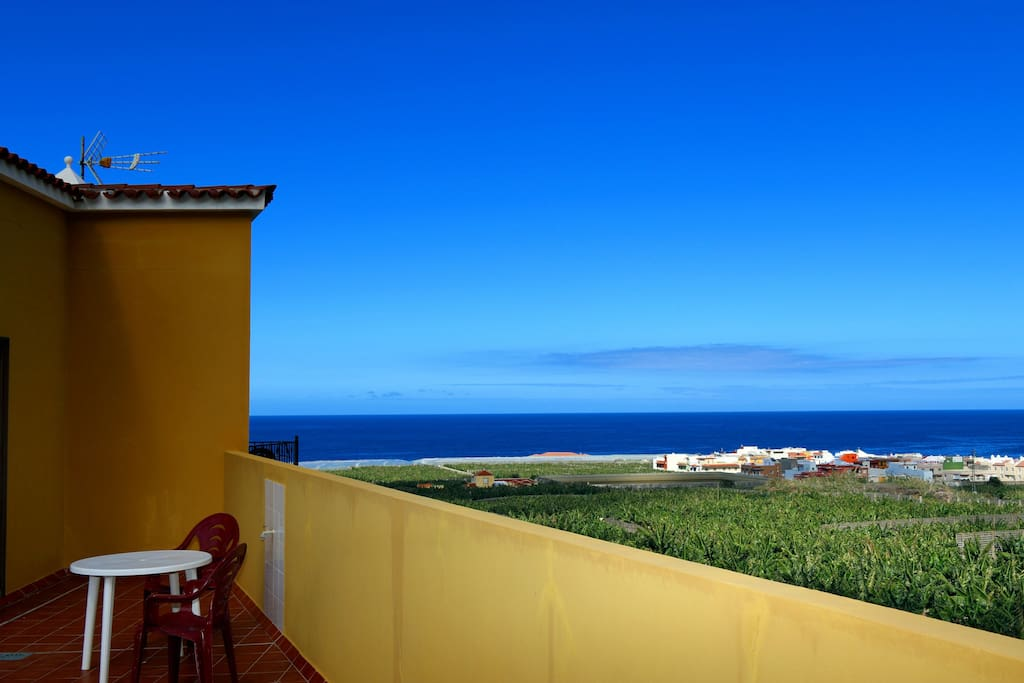 Ocean View from Roof Terrace.