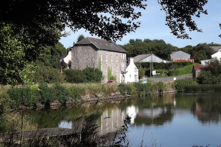 8 bedroom watermill Brittany France - Loguivy-Plougras - Hus