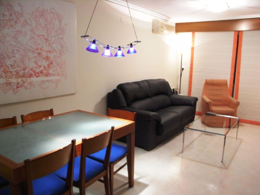 Salón-comedor / Living-dining room
