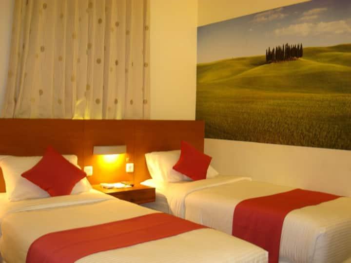 Twin Bed Room Jalan Lamongan Malang