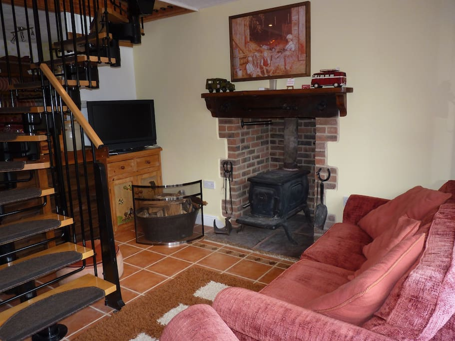 Log burner in your sitting room